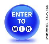 enter to win icon. internet... | Shutterstock . vector #656974531