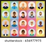 people profiles | Shutterstock .eps vector #656977975