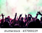 people at the concert | Shutterstock . vector #657000229