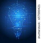 vector illustration of light... | Shutterstock .eps vector #657000421