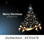 christmas tree | Shutterstock .eps vector #65701678