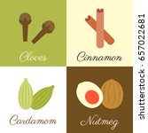 icon of herbs and spices  ... | Shutterstock .eps vector #657022681