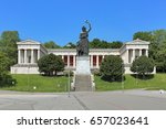 ruhmeshalle  hall of fame  with ... | Shutterstock . vector #657023641