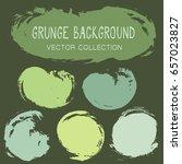 grunge brush stroke background... | Shutterstock .eps vector #657023827