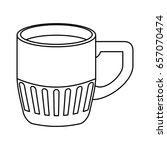 delicious coffee cup   Shutterstock .eps vector #657070474