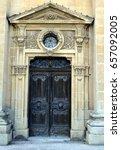 St. Publius Wooden Church Door...