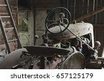 Antique Weathered Tractor...
