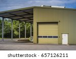 warehouse of a factory | Shutterstock . vector #657126211