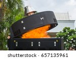 Small photo of Demonstration of waste incineration with electric incinerators