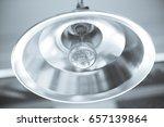 industrial pendant lamps. the... | Shutterstock . vector #657139864