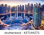 Night View Of Dubai Marina...