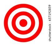 dartboard. dart arrow hitting... | Shutterstock . vector #657192859
