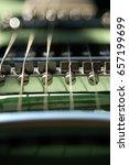 Close Up Of Electronic Guitar...