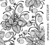 vector black and white wild...   Shutterstock .eps vector #657218149