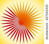 geometric circle element of... | Shutterstock .eps vector #657241435