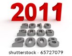happy new year 2011 | Shutterstock . vector #65727079