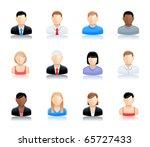 vector user icon | Shutterstock .eps vector #65727433