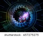 central design series. abstract ... | Shutterstock . vector #657275275