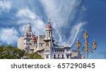 buenos aires  national congress ... | Shutterstock . vector #657290845