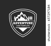 adventure badge graphic design... | Shutterstock .eps vector #657297184