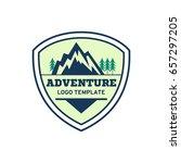 adventure badge graphic design... | Shutterstock .eps vector #657297205