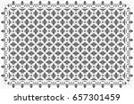 black and white pattern for... | Shutterstock . vector #657301459