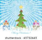 color full invitation card... | Shutterstock .eps vector #65732665