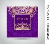 modern template for design... | Shutterstock .eps vector #657340711