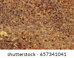 iron rust | Shutterstock . vector #657341041