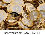 ethereum   virtual money  ... | Shutterstock . vector #657346111