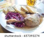 Czech Cuisine Specialty Duck...