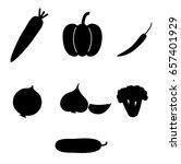 vegetable vector illustrator | Shutterstock .eps vector #657401929