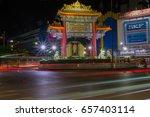 chinatown  bangkok  thailand ... | Shutterstock . vector #657403114