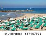 tel aviv  israel   may 02  2017 ... | Shutterstock . vector #657407911