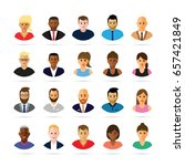 people profiles | Shutterstock .eps vector #657421849