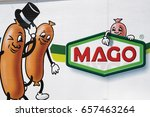 Small photo of Berlin, Germany - May 18, 2017: Mago Kohn & Kempkes GmbH logo. It is a medium-sized, owner-managed company group offering an assortment of sausage and meat products as well as delicatessen products