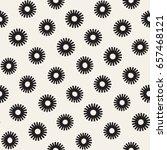 vector seamless sunburst shapes ... | Shutterstock .eps vector #657468121