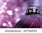 christmas ball | Shutterstock . vector #65746933