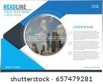 abstract vector modern brochure ...   Shutterstock .eps vector #657479281