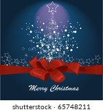 vector christmas background | Shutterstock .eps vector #65748211