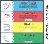 spa salon web banner templates... | Shutterstock .eps vector #657485407