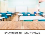 look out from the table  blur... | Shutterstock . vector #657499621