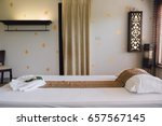 place for relaxation in modern... | Shutterstock . vector #657567145