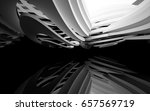 abstract white interior of the... | Shutterstock . vector #657569719