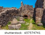 View Of Ruins Of Ancient Roman...