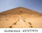 The Red Pyramid Of Dahshur Wit...