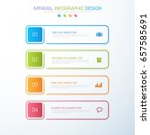 business  infographics ... | Shutterstock .eps vector #657585691
