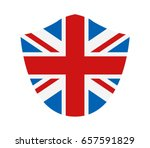 flag of great britain | Shutterstock . vector #657591829