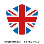 flag of great britain | Shutterstock .eps vector #657597919