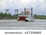 Steam Boat On The Mississippi...